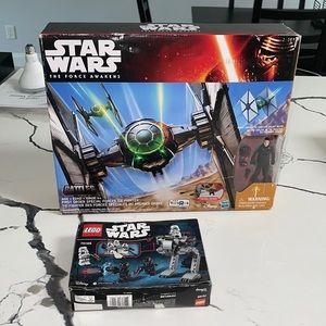 NIB Star Wars The Force Awakens & Lego 75165